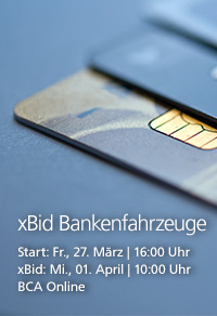xBid Bankenfahrzeuge