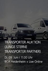 Transporter Auktion Junge Sterne Transporter Partner