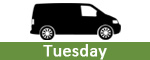 Tuesday Vans at Measham Commercials